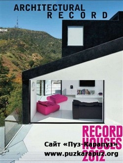 Architectural Record - April 2012