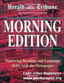 MORNING EDITION. Mastering Reading and Language Skills with the Newspaper (PDF+MP3)