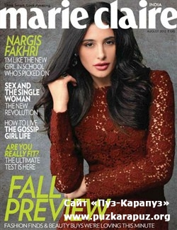Marie Claire - August 2012 (India)