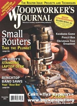 Woodworker's Journal - December 2012