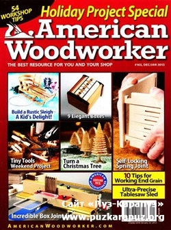 American Woodworker - December 2012/January 2013 (No.163)