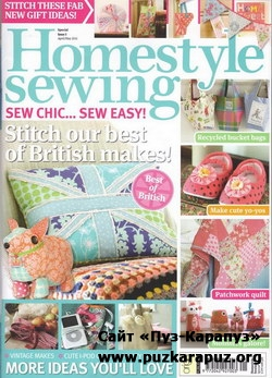Homestyle Sewing Issue 3  2011