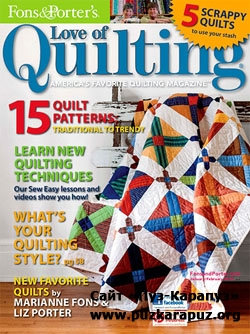 Love of Quilting - January/February 2013