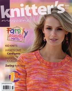 Knitter's Magazine № 111, Summer 2013