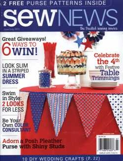 Sew News - June/July 2013
