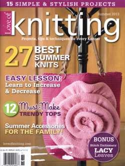 Love of Knitting - Summer 2013