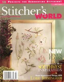 Stitcher's World - July 2005