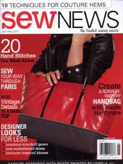 Sew News - April/May 2013