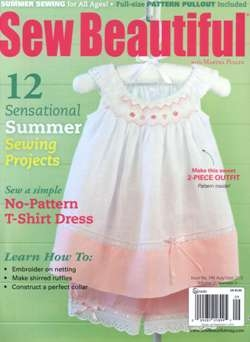 Sew Beautiful - August/September 2013