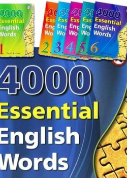 Paul Nation. 4000 Essential English Words 1-6 (полная версия)