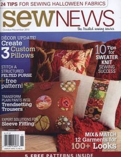 Sew News - October/November 2013