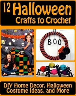 12 Halloween Crafts to Crochet DIY Home Decor Halloween Costume Ideas and More
