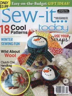 Sew-it...Today - December 2013/January 2014