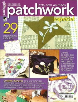 Arte com as maos Patchwork especial no.4