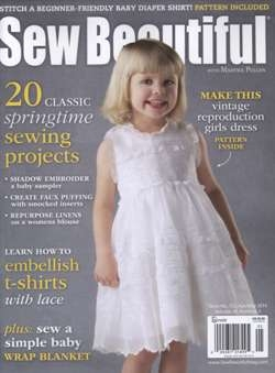 Sew Beautiful - April/May 2014