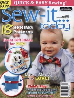 Sew-it...Today - April/May 2014