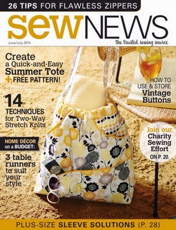 Sew News - June / July 2014