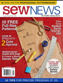 Sew News - August / September 2014