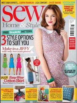 Sew Home & Style - July 2014