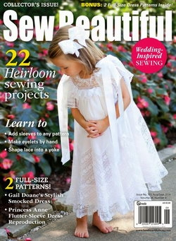 Sew Beautiful - Issue 155 August/September 2014