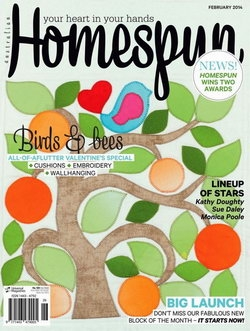 Australian Homespun - Issue 129 Vol 15.2 February 2014