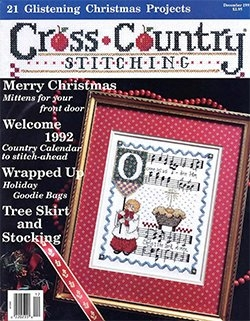 Cross Сountry Stitching Vol.3, № 5 - November/December 1991