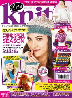 Let's Knit Issue 83