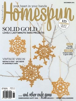 Australian Homespun - Issue 139 December 2014