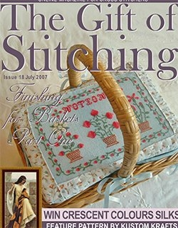 The Gift of Stitching Issue 018 July 2007