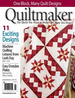 Quiltmaker - Vol. 34 No. 1 January / February 2015