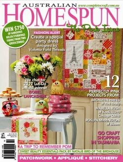 Australian Homespun - Issue 112 Vol 13.9 September 2012