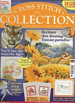 Cross Stitch Collection  Issue № 070 - October 2001