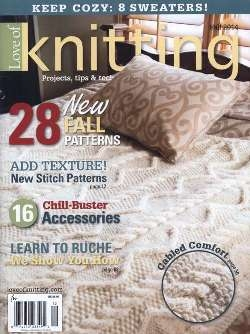 Love of Knitting - Fall 2014