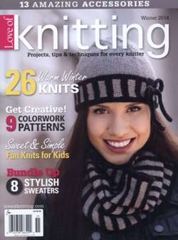 Love of Knitting - Winter 2014