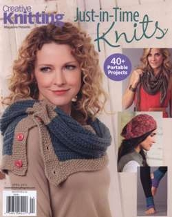 Creative Knitting. Just -in-Time Knits - April 2015