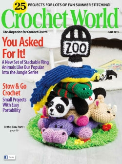 Crochet World Volume 38 №3, 2015