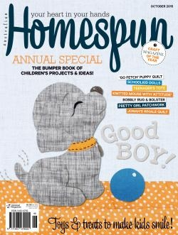 Australian Homespun No. 149 Vol 16.10 - October 2015
