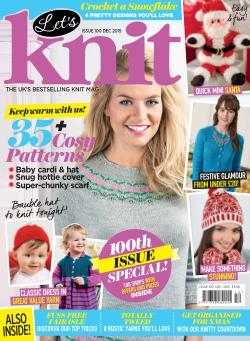 Let's Knit – Issue 100 December 2015