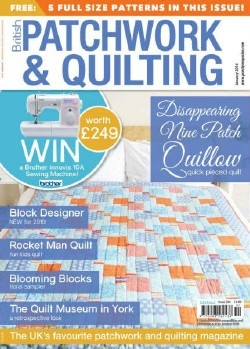 Patchwork and Quilting - January 2016